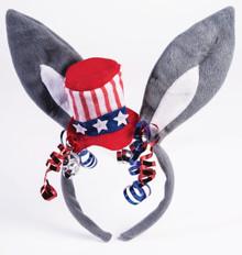 /democratic-headband-donkey-ears-4th-of-july-mini-hat/