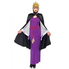Deadly Dark Queen Women's 4pc Dress