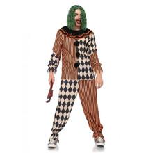 Creepy Circus Clown Shirt & Pants (85622)