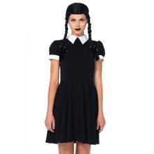 Gothic Darling 2PC Women's Dress & Wig