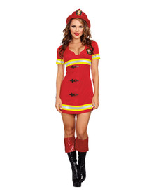 Fire Chief Women's Costume