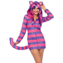 Cozy Cheshire Cat Hooded Dress