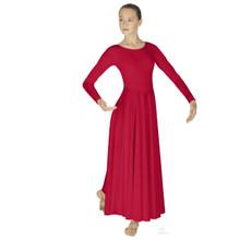 Simplicity Lades Long Sleeve Dancer Dress