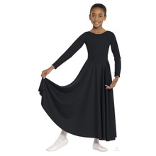 Simplicity Girl's Long Sleeve Dancer Dress