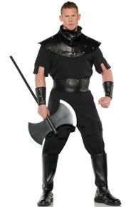 Executioner Black Renaissance Punisher Mens Plus Size Costume