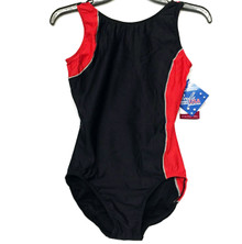 Gymnastics Flatlock Seam Cross Over Custom Leotard