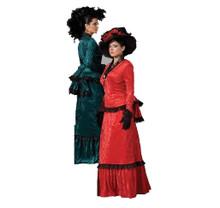 Rent: Victorian Era Green Costume Dress