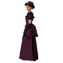 Rent: Victorian Era Purple Costume Dress