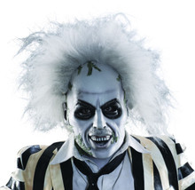 Beetlejuice Adult Licensed Full Overhead Latex Mask
