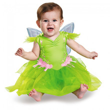 Disney Baby Tinker Bell Infant Dress w/ Detachable Wings