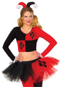 Harley Quinn Tutu Adult Skirt Licensed DC Comics