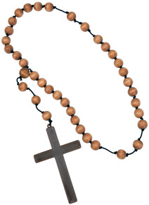 Monk Beads with Cross