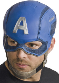 Captain America Civil War Overhead Latex Mask Adult Licensed Marvel