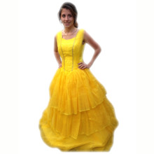 Belle of the Ball Yellow Princess Dress