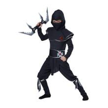Ninja Warrior Childs Costume & Foam Throwing Star