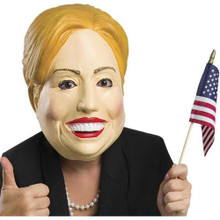Deleter of the Free World Mask Hillary Clinton