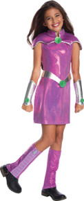 DC Super Hero Girls Deluxe Starfire Costume