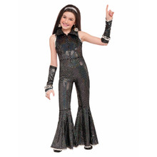 Disco Jumpsuit Costume Kids Disco Fever 70's