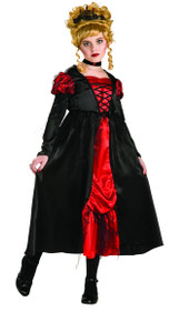 Vampiress Dress Kid's Costume