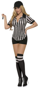 Referee Shirt Sexy Ladies Costume Accessory
