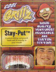 Cool Grillz Silver Teeth