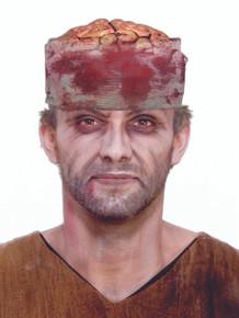 Brains Headpiece with gauze
