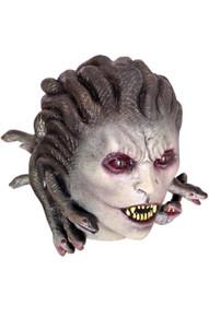 Medusa Mask with Sharp Teeth and snakes