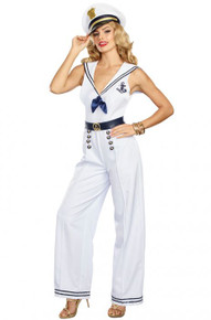 Anchors Away Adult Women's Costume