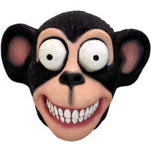 Black Chimp Mask Latex Full over the head