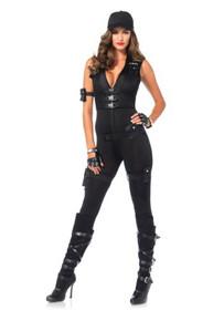 Deluxe SWAT Commander Complete 7pc Costume