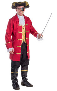 Elite Pirate Mens Complete Costume