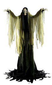 Hagatha the Towering Witch Over 7 feet Animated Decor