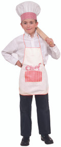Chef Hat and Apron for Kids