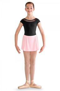 Box Pleat Side Pearl Stud Skirt
