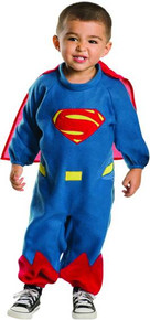 Batman vs Superman Licensed Superman Romper Toddler Costume