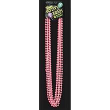 Beads Pink Glow in the Dark Mardi Gras Beads