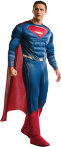 Justice League Licensed Adult Deluxe Superman Costume