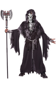 Evil Unclaimed Skull & Chains Boy's Costume