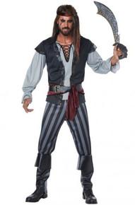Scallywag Pirate Men's Costume