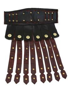 Gladiator Belt Distressed Brown and Black