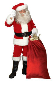 Imperial Santa Suit Regal Red X-Large 50-56 Jacket Size