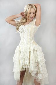 3019d240074 Carnation Vintage Brass Taffeta Black Frill Skirt - Imaginations ...