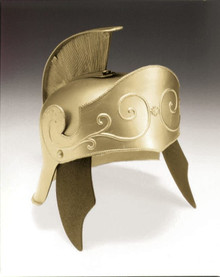 Gold Adult Roman Helmet