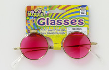 Hippie Glasses with Pink Lense