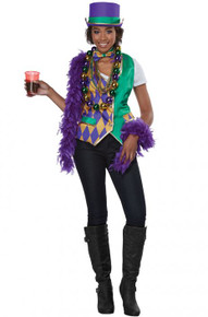 Mardi Gras Adult Vest Kit