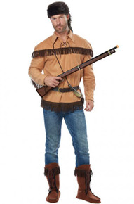 Frontier Man/Davy Crockett Adult Costume