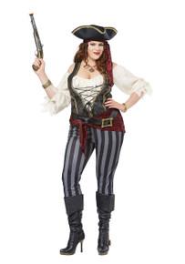 Brazen Buccaneer Adult Plus Size Costume