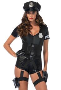 Flirty Five-O Sexy Cop Costume