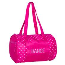 Dots Duffle Bag Pink