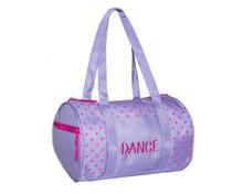 Dots Duffle Bag Lavender